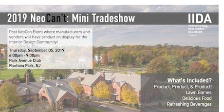 IIDA NeoCan't, Mini-Tradeshow tickets