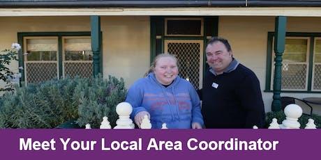 Meet your Local Area Coordinator Lismore tickets