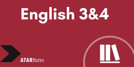 English Units 3&4 Exam Revision Lecture - REPEAT 1 tickets