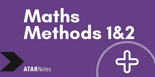 Maths Methods Units 1&2 Exam Revision Lecture