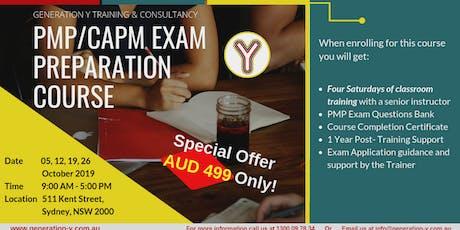 PMP/CAPM Exam Preparation Course | Classroom | Saturdays Batch tickets
