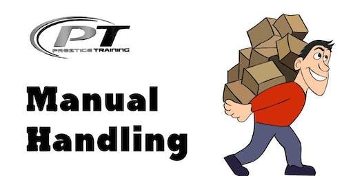Manual Handling Course, Oranmore - 31st Aug  - Prestige Training Galway