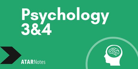 Psychology Units 3&4 Exam Revision Lecture - REPEAT 2 tickets