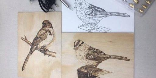 Pyrography - Wood Burning Art  - Level 2