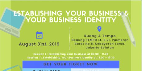 Establishing Your Business & Your Business Identity tickets