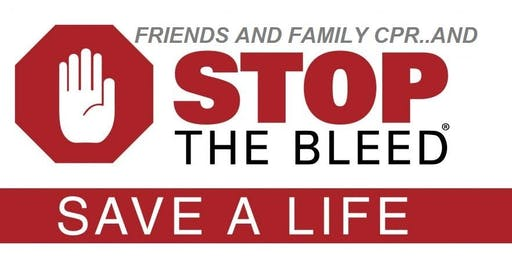 Friends and Family CPR & Stop the Bleed