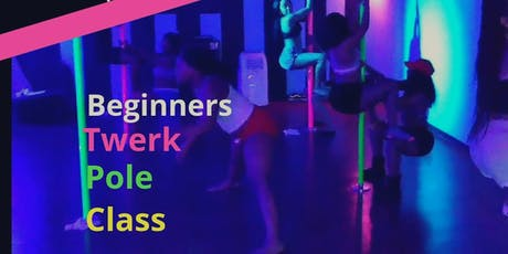 $5 Happy Hour Pole N Twerk Class / Beginners tickets