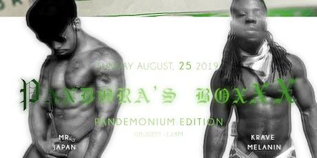 Pandora's BoXXX: Pandemonium Edition Male Exotic Dancer Showcase & Contest tickets