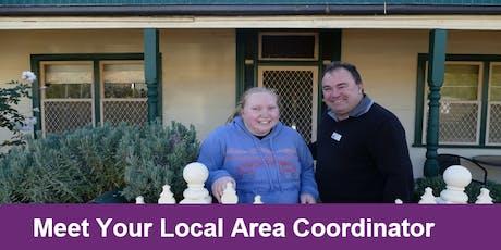 Meet your Local Area Coordinator Ballina tickets