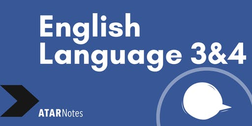 English Language Units 3&4 Exam Revision Lecture