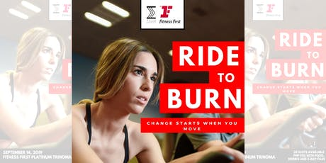 """Pro cycling session """"RIDE TO BURN"""" Tickets"""