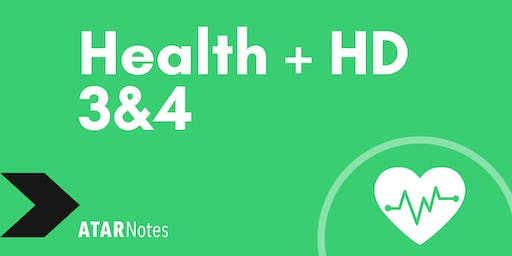 Health + HD Units 3&4 Exam Revision Lecture