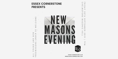 Essex Cornerstone Presents New Masons Evening tickets