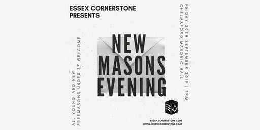 Essex Cornerstone Presents New Masons Evening