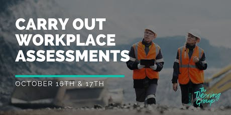 Carry Out Workplace Assessment WPTASS001 - October tickets