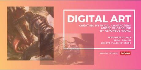 Digital Art – Adobe Photoshop Workshop By Alfonsus Wong tickets