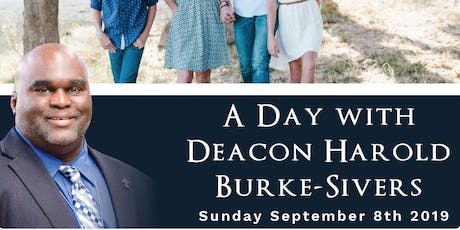 A Day with Deacon Harold:  St Patrick's Church, Blacktown - 8th Sept 2019 tickets
