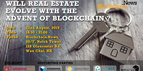Will Real Estate Evolve With The Advent of Blockchain? tickets