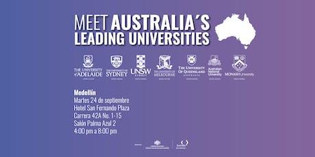 Meet Australia's Leading Universities in Medellín 2019 tickets