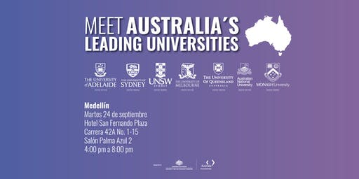Meet Australia's Leading Universities in Medellín 2019