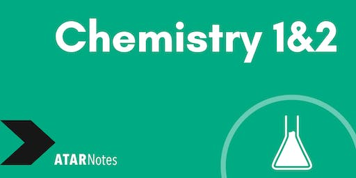 Chemistry Units 1&2 Exam Revision Lecture - REPEAT 1