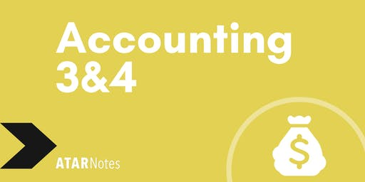 Accounting Units 3&4 Exam Revision Lecture