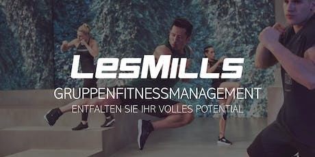 LES MILLS Gruppenfitnessmanagement-Seminar in Wien Tickets