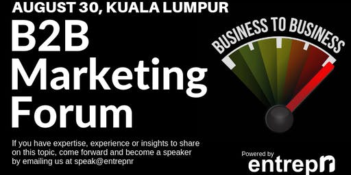 B2B Marketing Forum