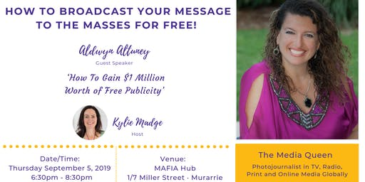 How to Broadcast your Message to the Masses for FREE!