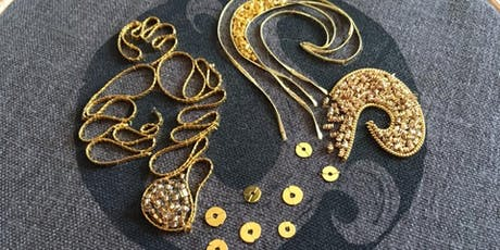 Adventures in Goldwork: Hanny Newton Workshop tickets
