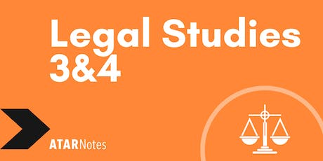 Legal Studies Units 3&4 Exam Revision Lecture tickets