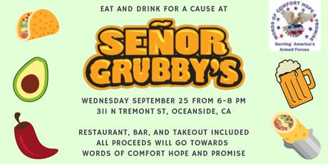 AIB2B Eats For The Marines on Camp Pendleton at Señor Grubby's tickets