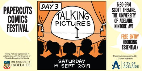 Talking Pictures - Papercuts Comics Festival day 3 tickets