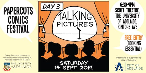 Talking Pictures - Papercuts Comics Festival day 3