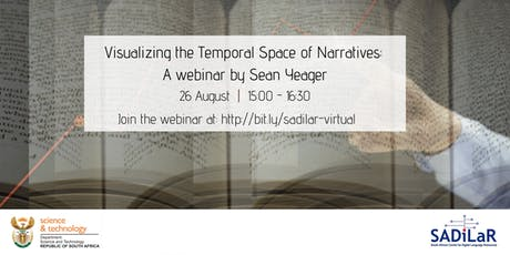 Visualizing the Temporal Space of Narratives: A webinar by Sean Yeager tickets