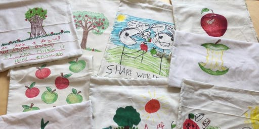 Community Crafting: Making More Apple Bags