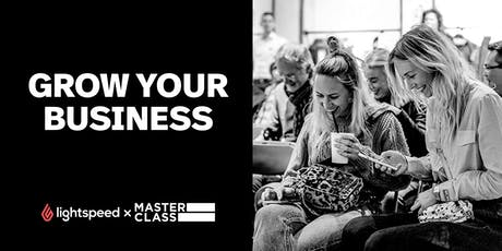 Masterclass: Grow your business tickets