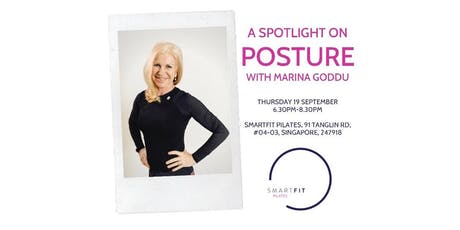 A Spotlight on Posture with Marina Goddu tickets