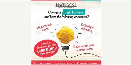 Overcome challenges  faced by F&B businesses tickets