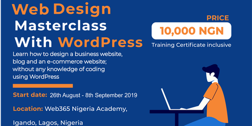 Website Design MasterClass with Wordpress