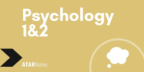 Psychology Units 1&2 Exam Revision Lecture tickets