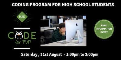 Hack High School Coding Program - Free Information Event