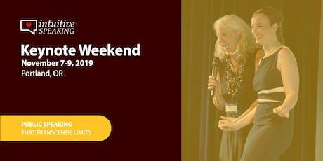 Intuitive Speaking Presents: Keynote Weekend 2019 tickets
