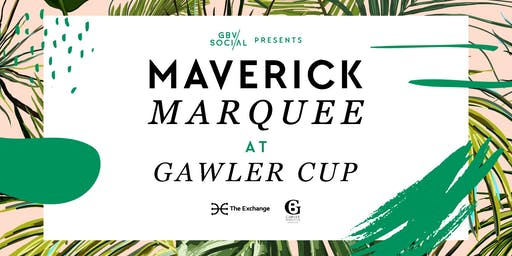 Maverick Marquee at Gawler Cup