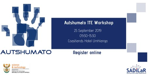 Autshumato ITE introductory workshop