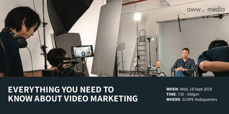 Everything You Need To Know About Video Marketing tickets