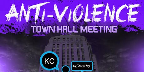 ANTI-VIOLENCE TOWN HALL tickets