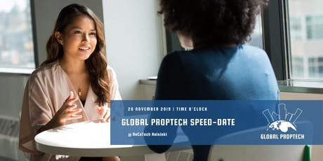 Global PropTech Speeddate tickets