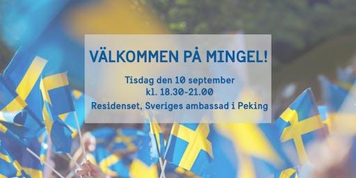 Sommarmingel med Sveriges ambassadör Helena Sångeland