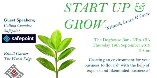 Start Up and Grow September 2019 event